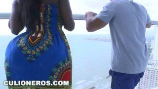 Karina una de las Negras Tetonas Mas Putas de Colombia