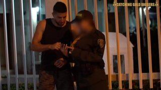 Extranjero Culiando con Policia de Bogota Culona y Tatuada
