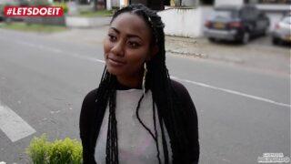 Sexo Interracial con Una Negra Colombiana Muy Chimba